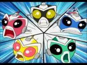 فريق القرود الآلي الخارق الحلقة 1