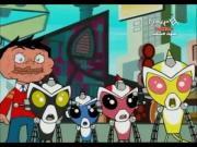 فريق القرود الآلي الخارق الحلقة 20